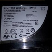 Ssd Intel 520 Series 240gb Istimewa