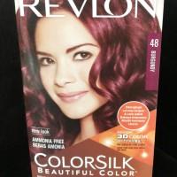 Revlon Color Silk Cat Rambut No. 48 Burgundy