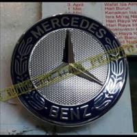 Logo Bintang Kap Mesin Tidur / Emblem Mercedes Benz Original