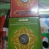 al quran al wasim a5 terj latin tajwid kode angka