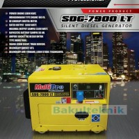Genset diesel multipro 5000 watt