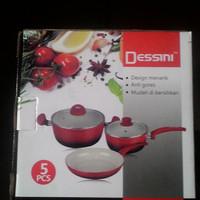 harga Panci Dessini Ceramic Pan Set Tokopedia.com
