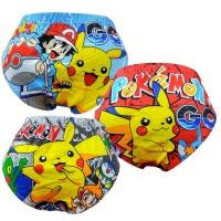 Bananana Celana Dalam Anak Laki-Laki Pokemon Go [Set 3 Pcs]
