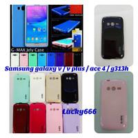 silikon soft jelly case sarung cover samsung galaxy v ace4 ace 4 g313h