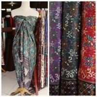 kain batik semi sutera motif songket / batik semisilk