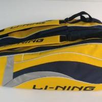 Tas Badminton / Bulutangkis Lining Yellow/Black (New 2016)