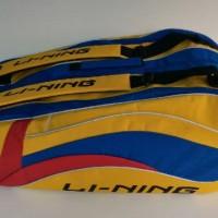 Tas Badminton / Bulutangkis Lining Yellow/Blue (New 2016)