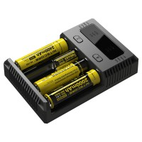 Nitecore Intellicharger I4 Charger Baterai 4 Slot