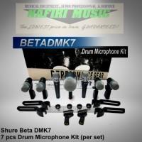 Mic Drum Shure BETA DMK 7 XLR / BETA DMK7 XLR / BETA DMK-7 XLR murah!