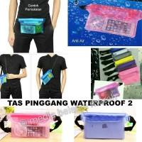 TAS PINGGANG WATERPROOF - TAS PINGGANG ANTI BASAH - TAS PINGGANG UNIK