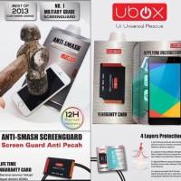 UBOX Anti Smash 0.25mm Screen Protector Acer Liquid Z500 Original