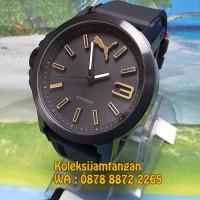 JAM TANGAN PRIA PUMA PU103462020 BLACK GOLD ORIGINAL MURAH