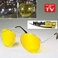 Night View Glass Kacamata Anti Silau Aviator Style