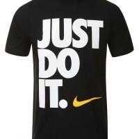 tshirt nike just do it BIG FONT gildan black Murah