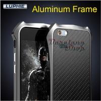 LUPHIE Metal Aluminum Frame Batman iPhone 5 SE 6 6s 7 8 X Plus Case