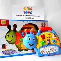 harga mainan musik lampu bayi anak PIANO SNAIL PIANO SIPUT PIANO LUCU Tokopedia.com