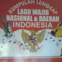 buku kumpulan lengkap lagu wajib nasional dan lagu daerah Indonesia