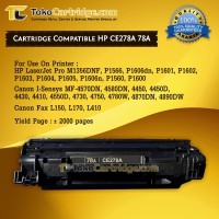 harga Cartridge Toner Compatible HP CE278A 78A Canon CRG 128 328 728, Tokopedia.com