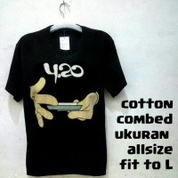 harga Kaos Baju DISTRO Reggae 420 Tokopedia.com