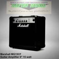 Amplifier gitar marshall MG15CF / MG-15CF / MG 15 CF / MG15-CF murah!
