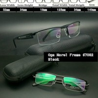 Frame Kacamata frame minus kacamata Baca OGA 67082 Black