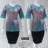 Blouse Batik Serasi Sarah 3/4 Tosca