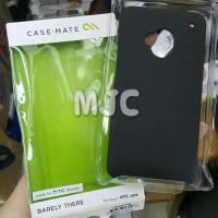 Case Mate HTC One M7 Hardcase originaL Case-Mate Black Only