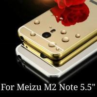 Casing Hp Meizu M2 Note Layar 5.5 Inch Luxury Bumper Metal Aluminum Mi
