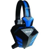 Rexus F22 Headphone / Headset Gaming / Game New Biru