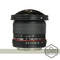 Samyang 8mm F/3.5 Fisheye Decachable Hood / CS II For Canon