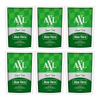 AXL Alexander Liquid Soap Aloevera Refill Pouch 250 ml ( Paket 6pc )