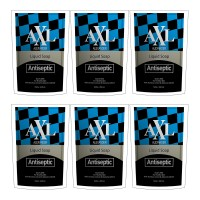 AXL Alexander Liquid Soap Antiseptic Refill Pouch 250 ml ( Paket 6pc )