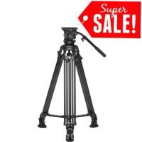 E-IMAGE EG-05A2 Professional Video Tripod