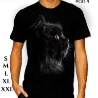 Jual tshirt 3d kucing,pakaian,baju, kaos 3d kucing Murah