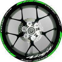 Stiker Velg Motor Kawasaki Ninja 300 Rim 17