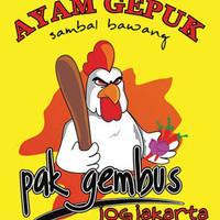 Ayam Gepuk Pak Gembus Nasi + Ayam + Tempe/Tahu + lalapan