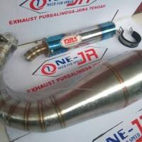 harga KNALPOT RACING DBS BLUE FIRE NINJA R,SS & RR Tokopedia.com