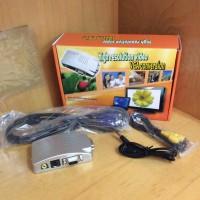 Converter VGA To AV Video / RCA : PC To TV Box