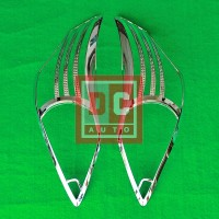 DC Garnish Lampu Depan Chrome Grand Innova 2011-2014 Motif Bintik