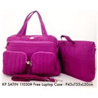 Tas Wanita Kipling Handbag Selempang Free Laptop Case Satin 11030 - 5