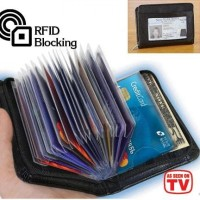 Jual Security Wallet Credit Card Lock Dompet Kartu Murah