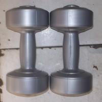 sepasang 2 kg dumble/dumbbell/dumbel/dumbell (bukan barbell/barbel)