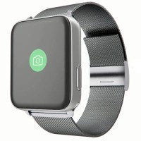 Wime A9 Smartwatch Silver 42mm For Apple Watch Strap Stainless Silve