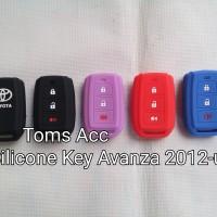 Silicone key Avanza 2012-2016 Toyota Kondom/kunci/Casing silikon