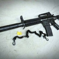 Airsoft Gun Spring Rifle M16 M16A18 Both Elephant BE Losepack