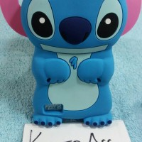 Case 4D Stitch Oppo Neo 7/Karakter/Soft/Silikon/3D/Rubber