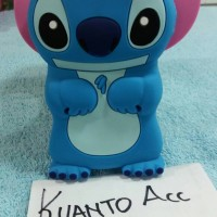 Case 4D Stitch Iphone 5/5G/5S / Karakter/Soft/Silikon/3D/Rubber