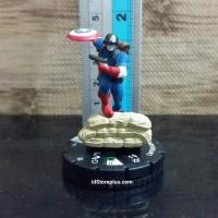 Miniature Captain America 001 Marvel 10th Anniversary
