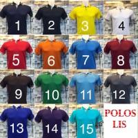 Polo Shirt Polos Lis, Kaos Polo Lis, Polos Lis, Polo Shirt