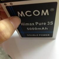 Baterai Himax Pure 3s Klb210n340 Double Power Mcom 5000Mah